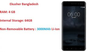 Nokia 6 Android Phone Price in Bangladesh