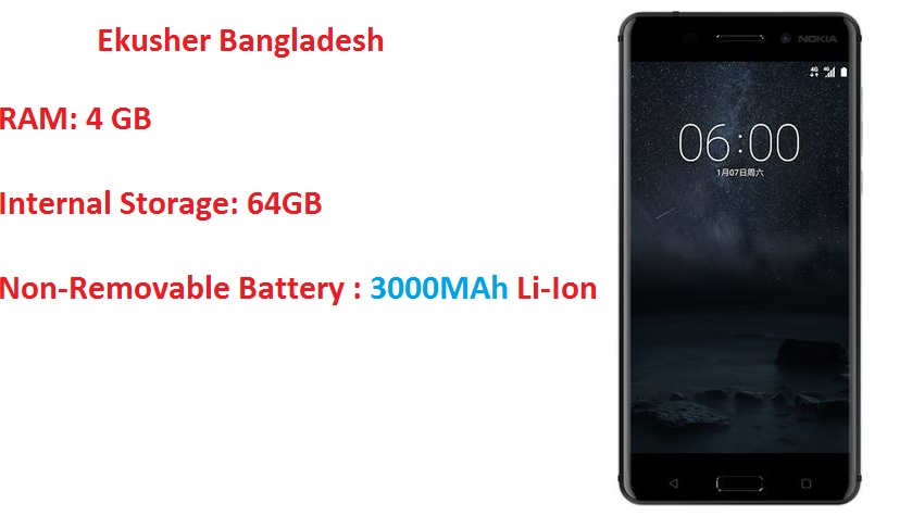 Nokia 6 Android Phone Price in Bangladesh