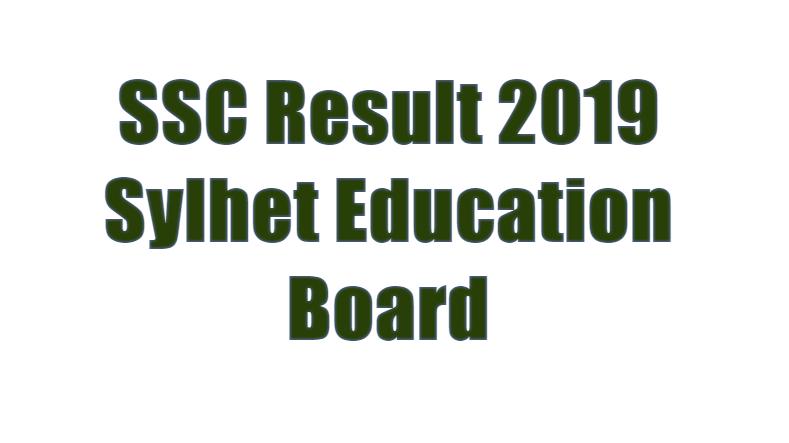 SSC Result 2019 Sylhet Education Board