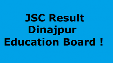 JSC Result Dinajpur Education Board