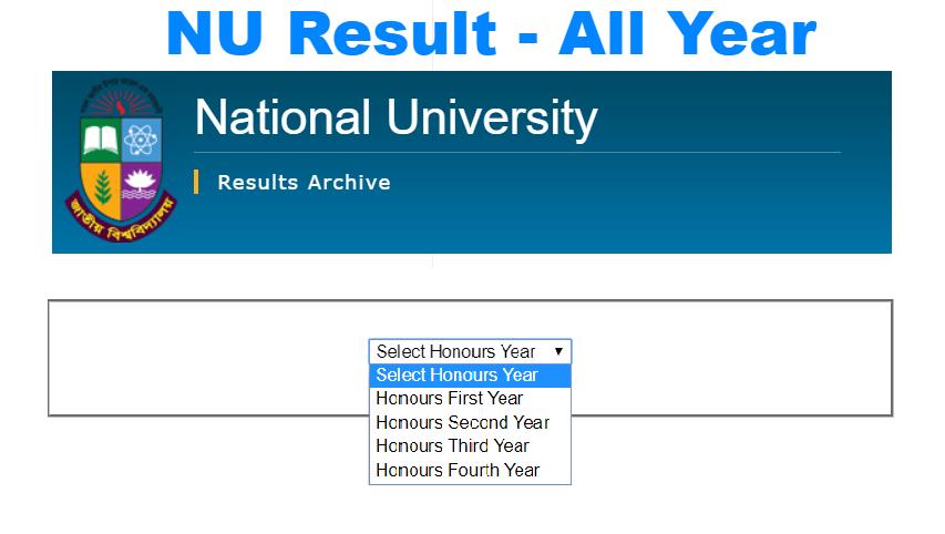 nu result