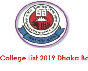 Top College List 2019 Dhaka Education