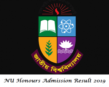NU Honours Admission Result 2019-20 Published