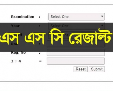 SSC Result 2020 Published Date