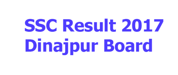 SSC Result 2017 Dinajpur Education Board